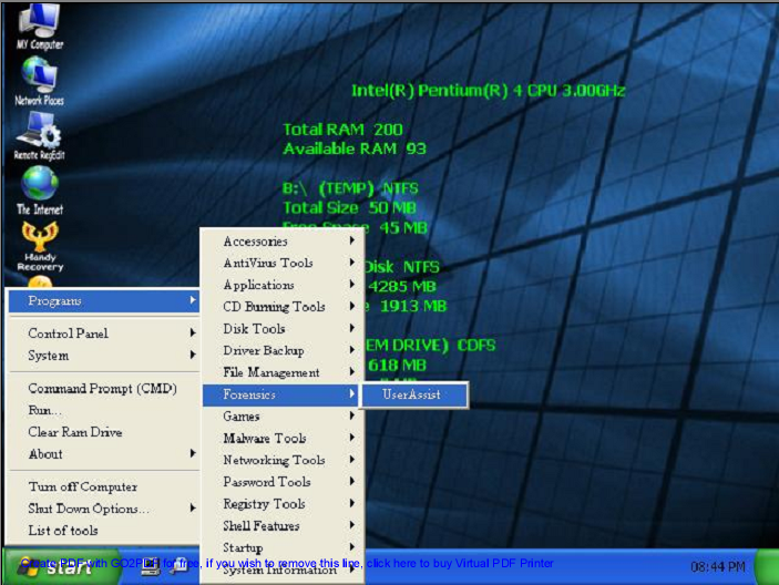 Windows xp live cd free download.