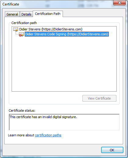Howto Make Your Own Cert With Openssl Didier Stevens
