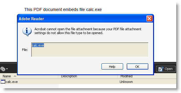 PDF の仕様に欠陥が!任意のコードの実行が可能
