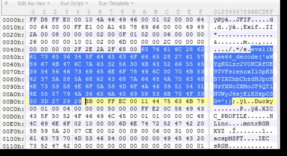 YARA Rule: Detecting JPEG Exif With eval() | Didier Stevens