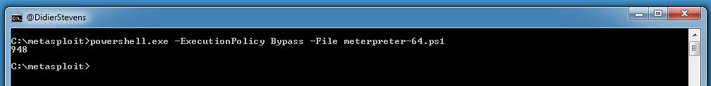 Generating PowerShell Scripts With MSFVenom On Windows