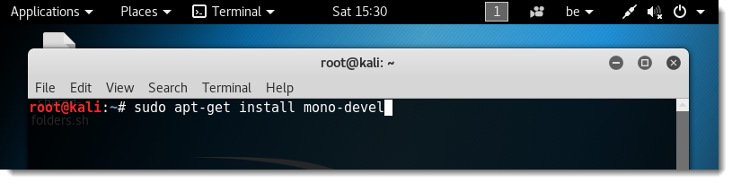 Compiling a Windows Service With Mono on Kali | Didier Stevens
