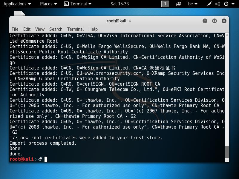 exe decompiler kali linux