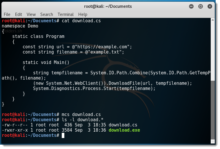 Running Windows Services on Linux with Mono | Didier Stevens