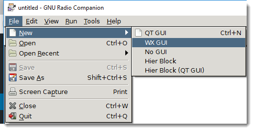 Quickpost: Creating A Simple Flow Graph With GNU Radio Companion