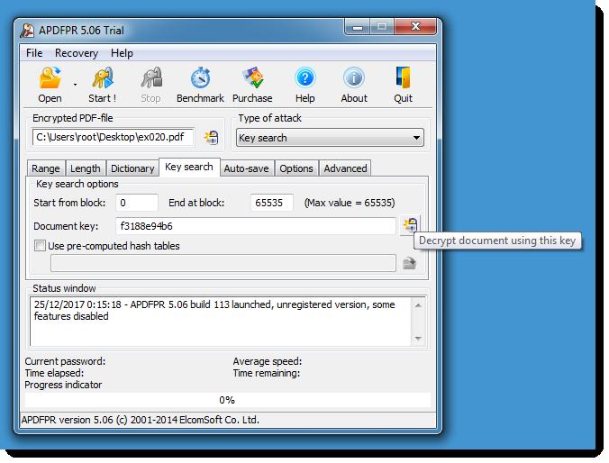 PDF FILE DECRYPTER DOWNLOAD