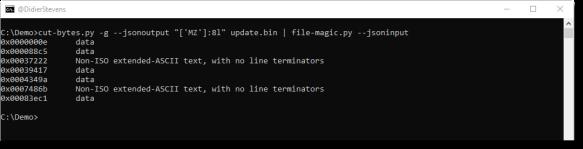Update: cut-bytes py Version 0 0 8   Didier Stevens